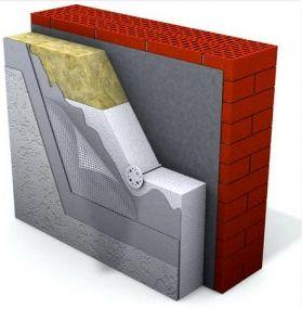 утепление стен методом мокрый фасад