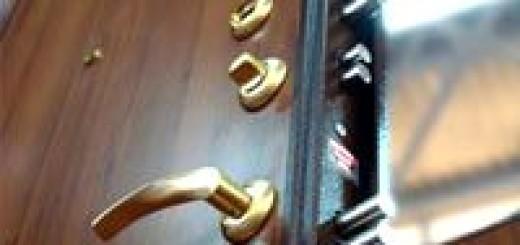 Обробка металевих дверей