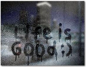 вода на окне