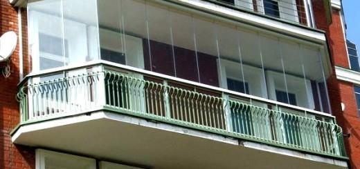 Остіклення балкона