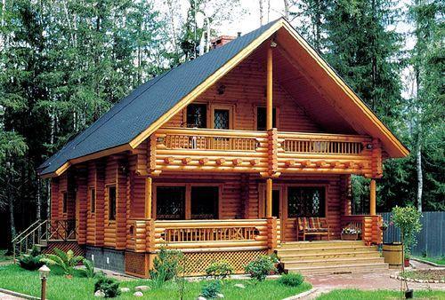 Енергозберігаючі будинки з клеєного бруса