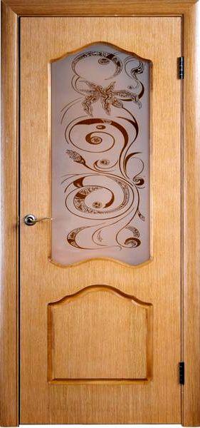 Двері міжкімнатні з шпону