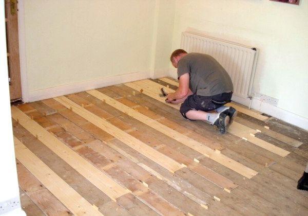 Ремонт дерев'яних підлог