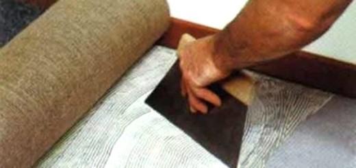Укладання ковроліну