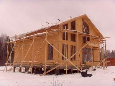 Консервація будівництва на зиму
