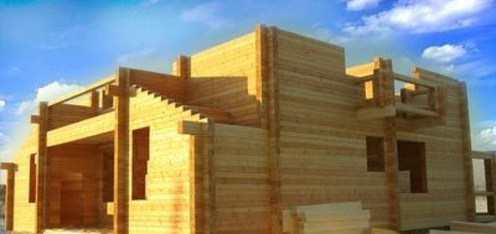 будинки з натурального дерева