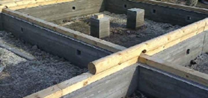 Вибираємо фундамент під каркасний будинок
