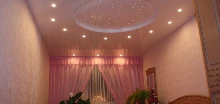 світильники на стелі