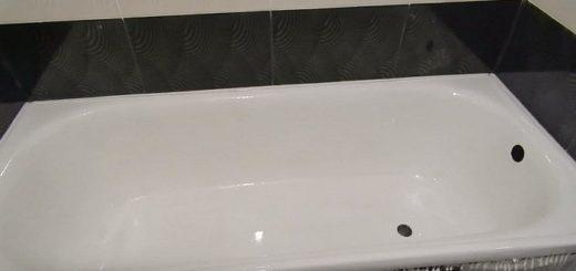 відреставрувати чавунну ванну рідким акрилом