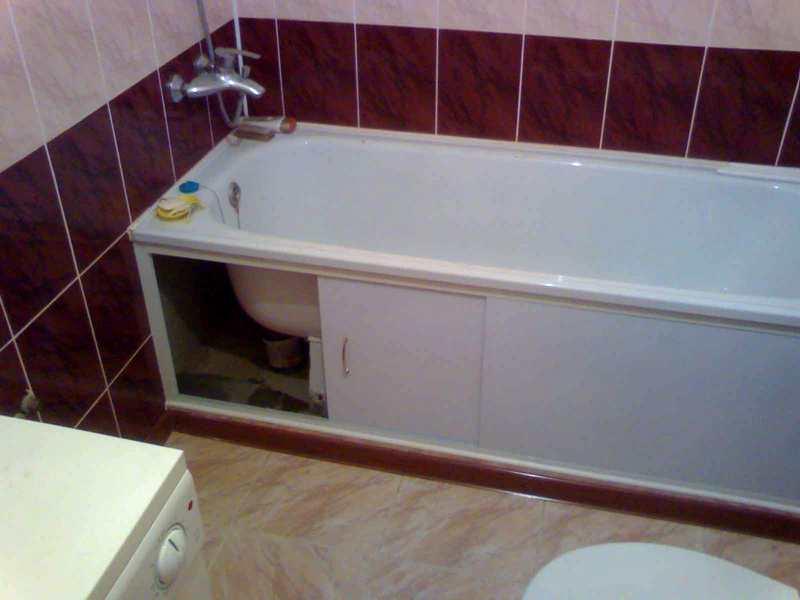 екран для ванної